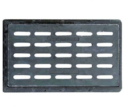碳纤维树脂重型水箅420x720x60mm